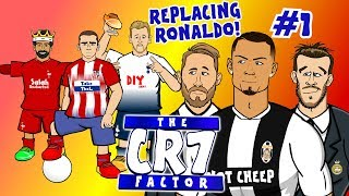 ⚫THE CR7 FACTOR #1 - REPLACING RONALDO!⚪ (feat. Griezmann, Salah, Kane and more! PARODY)