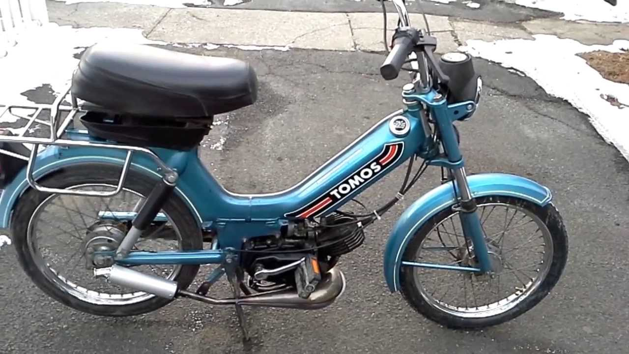 1989 Tomos Bullet - YouTube