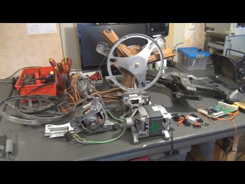 TPAI Lab Report # 002:  Salvaging and Reusing Parts from  Microwave Ovens and Washing Machines