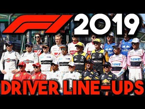 F1 2019 Driver Line Up Predictions