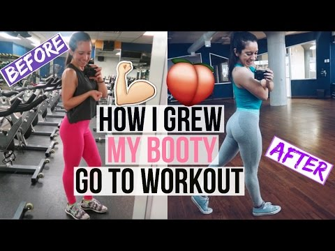 HOW I GREW MY GLUTES IN A YEAR || My Go To Glute Exercises