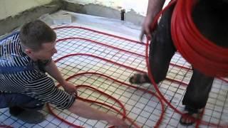 видео Устройство теплого водяного пола своими руками (фото)
