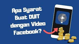 Syarat Buat Duit Dengan Video Facebook - [How To Monetize Facebook Video With Ad Breaks]