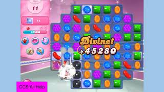 Candy Crush Saga Level 2363 NEW NO BOOSTERS Cookie