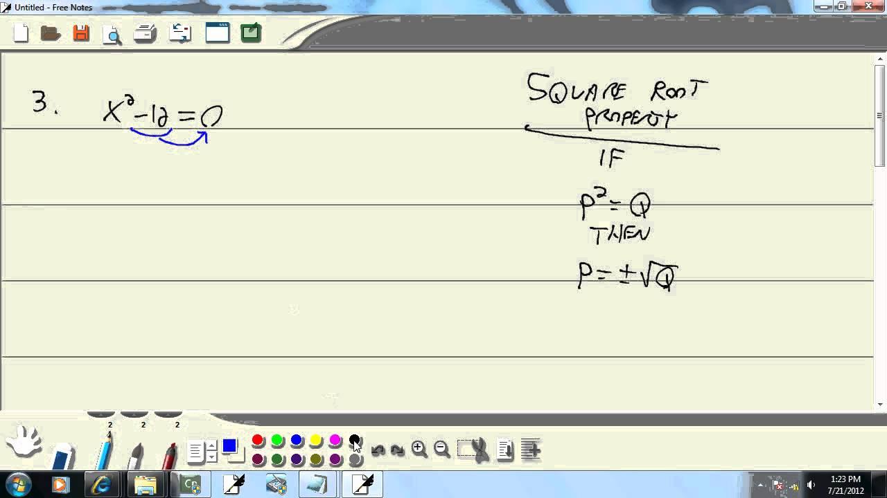 Elementary Algebra - Practice Final Exam 1 - Problem 03 - YouTube