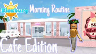 Roblox BloxBurg Morning Routine - Cafe Edition - Mila Nilla