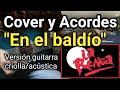 Cómo tocar En el baldío La Renga con guitarra criolla Acordes Tutorial Letra Cover