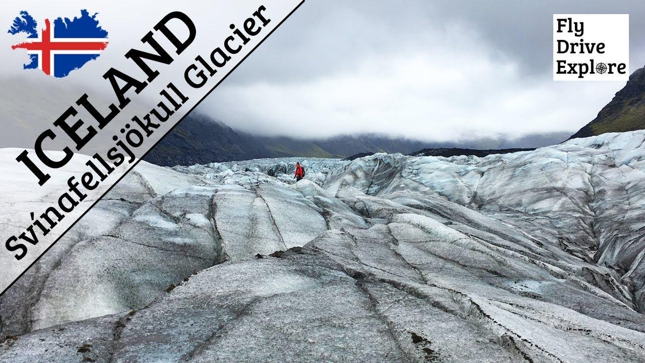 Our First Glacier Trek - Svínafellsjökull Glacier, Iceland