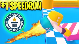 Fall Guys: NEW #1 WORLD RECORD *SPEEDRUN*!! - Fall Guys Funny Moments & WTF Highlights #26