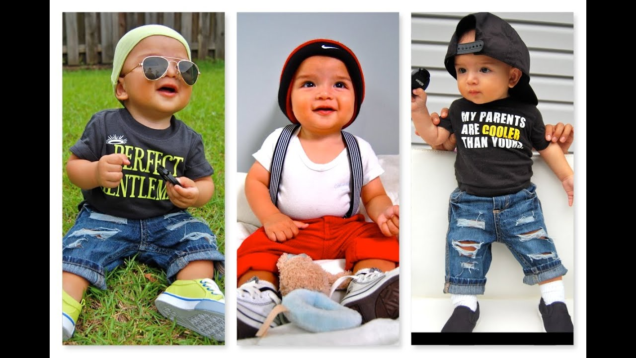 Cute Baby Boy S Outfit 6 Months Old Baby Summer Springs
