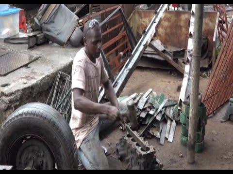 Côte d'Ivoire/Société: Un ferronnier pas comme les autres sur le pont De Gaule