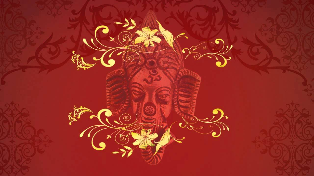 Wedding Background For Tital With Ganesha Youtube