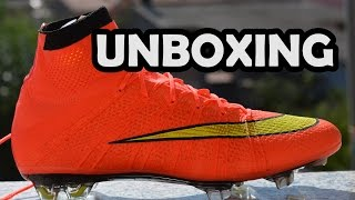 Unboxing Nike Mercurial Superfly Iv | Hyper Punch/gold/black| Footballerz Italy
