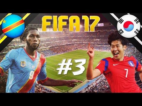 FIFA 17 - INTERNATIONAL ROULETTE #3 - DR CONGO VS KOREA REPUBLIC