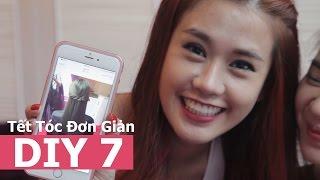 DIY 7 | Tết Tóc Đơn Giản | Ngọc Thảo Official
