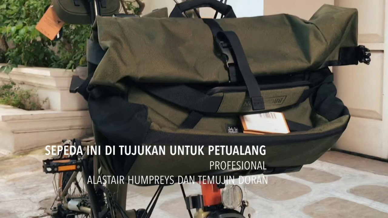 BROMPTON EXPLORE Solo Indonesia Cycling YouTube