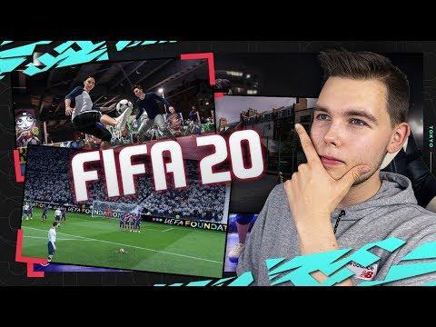 FIFA 20 | PIERWSZE WIEŚCI! Futbol ULICZNY, nowe RZUTY WOLNE