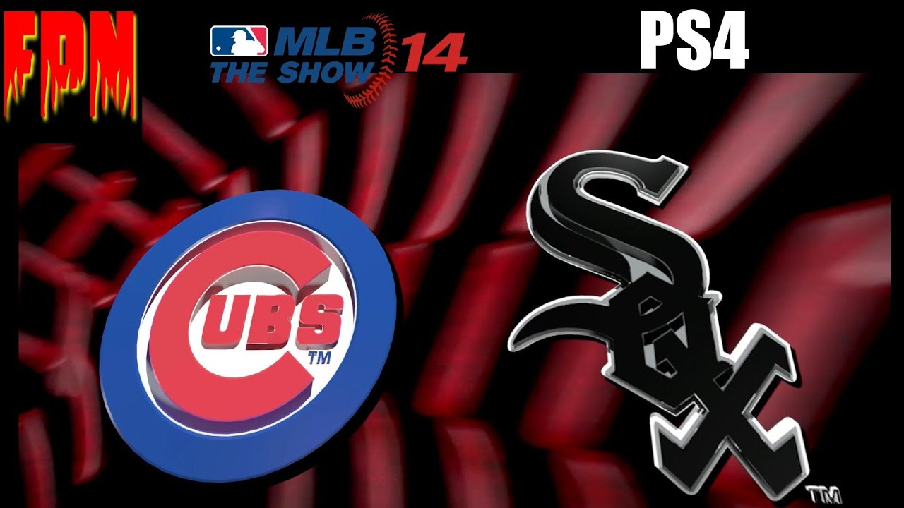 MLB 14 The Show PS4 Cubs vs White Sox