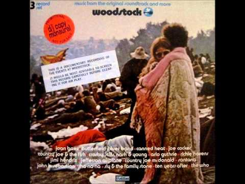 """Canned Heat - A Change Is Gonna Come/Leaving This Town """"Mono Mix"""" from Woodstock 1969 Concert."""