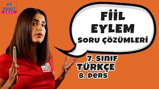 Fiil Eylem Soru Çözümleri | 7. Sınıf Türkçe Konu Anlatımları #7trkc