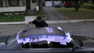 10.10.13 How to use Plasti-Dip for the first time (On my BMW 5 Series roof)