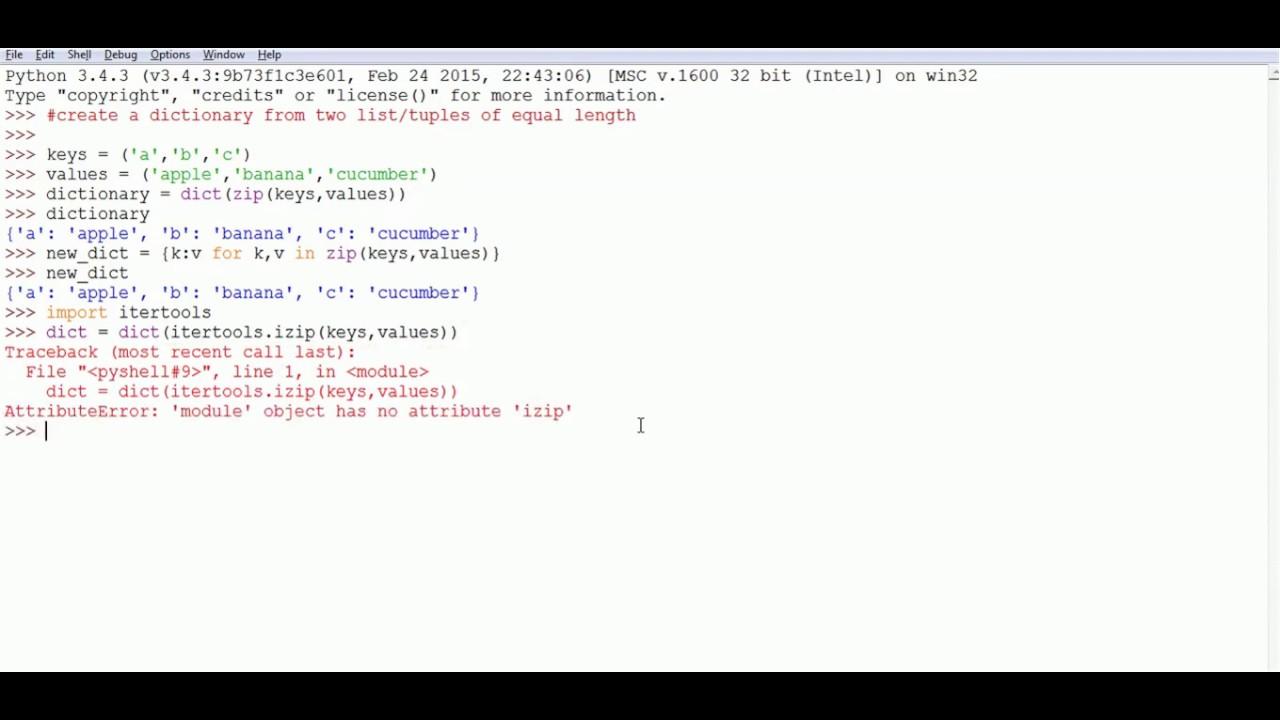 Python generate dictionary keys