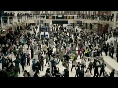 T Moble Liverpool St Flash Mob Dance Advert High Quality Youtube
