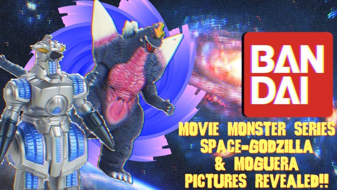 Bandai Movie Monster Series Space Godzilla Moguera Pictures