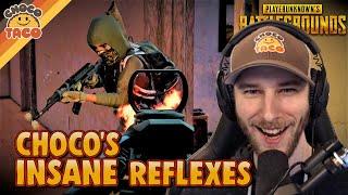 chocoTaco's Insane Reflexes - PUBG Solos Gameplay