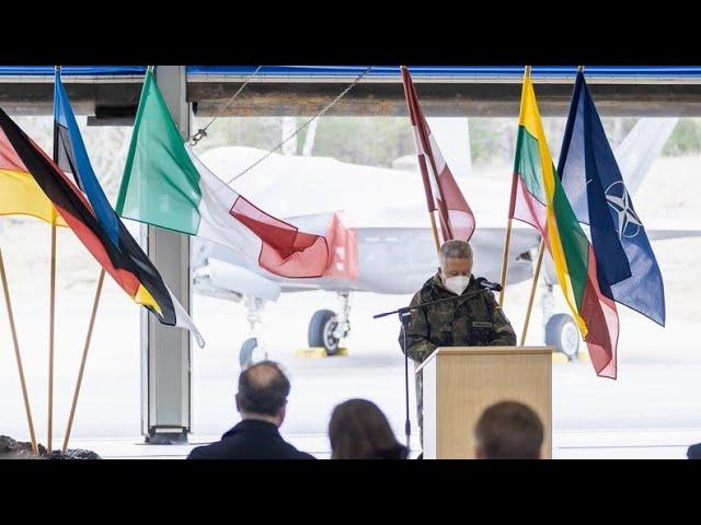 Saksamaa andis Balti riikide õhuruumi turvamise üle Itaaliale