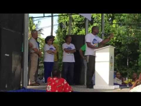 Gervais Henrie - LDS Rally, Anse Royale on Jun 4, 2017