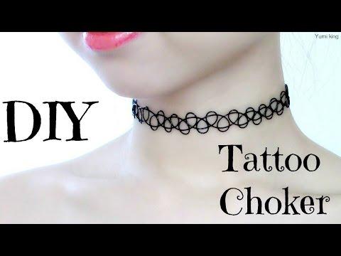 DIY Tattoo Choker