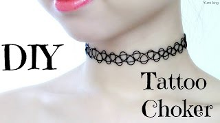 DIY Tattoo Choker