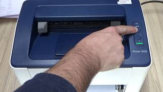Xerox Phaser 3020 - How to print Configuration & Supplies Information