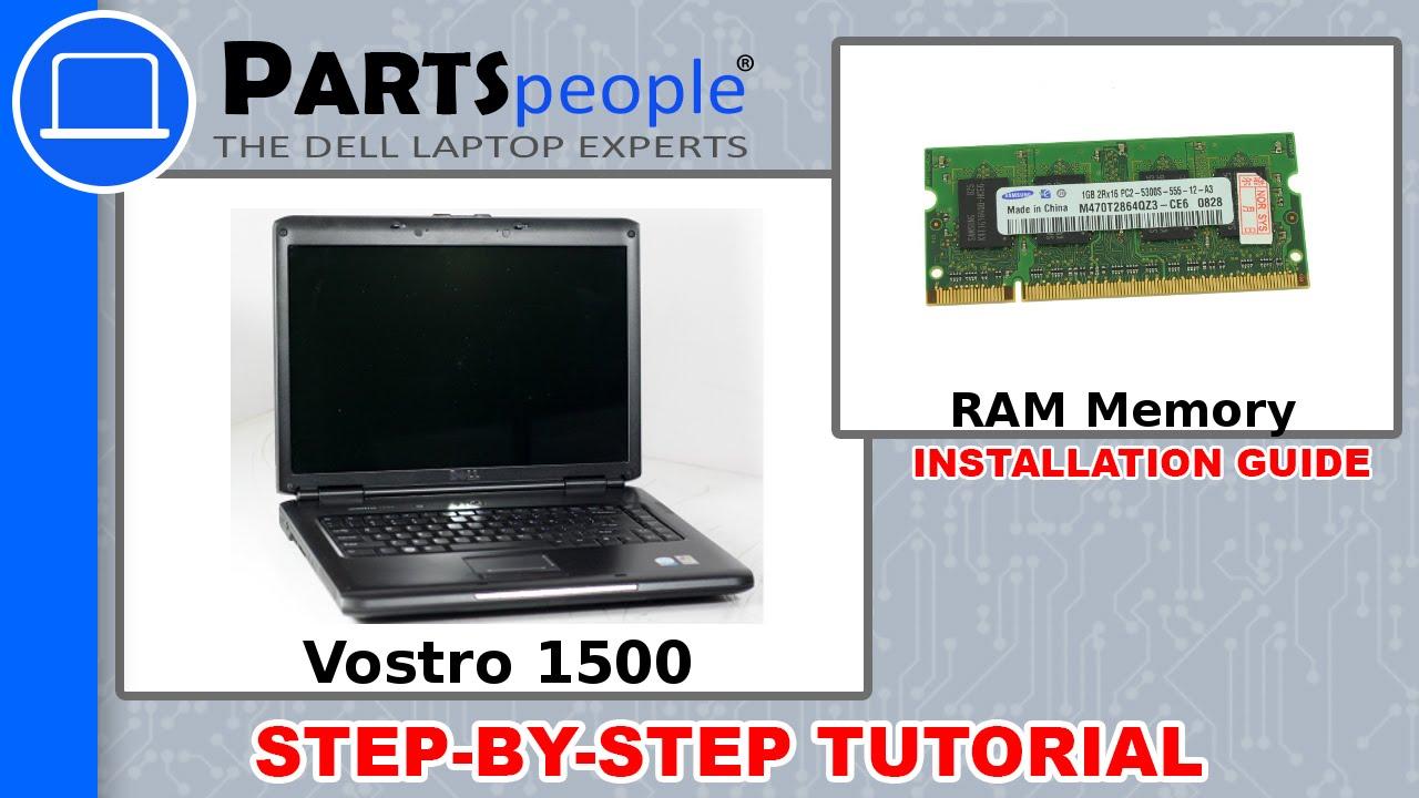 dell vostro 1500 ram memory under keyboard replacement video rh youtube com Card in Dell Vostro 1500 Graphics Dell Vostro 1500 Memory