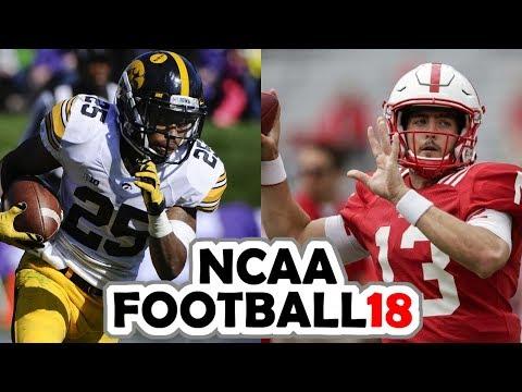Iowa @ Nebraska - 11-24-17 NCAA Football 18 PRESEASON Simulation