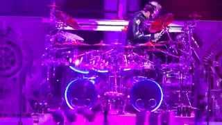 Five Finger Death Punch - Live Drum Solo - Jeremy Spencer - Jacobs Pavilion 2015
