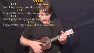 What's Up (4 NON BLONDES) Ukulele Cover Lesson in G with Chords/Lyrics
