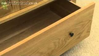 Cairo Solid Oak Wardrobe From Oak Furniture Land