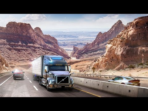[4K60] American Truck Simulator Utah DLC Gameplay - Page (AZ) To Salt Lake City (UT)