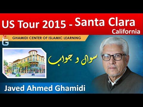 Javed Ghamidi USA Tour Santa Clara, California