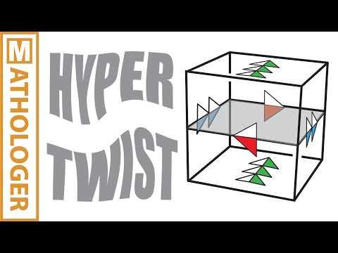 Hypertwist: 2-sided Möbius strips and mirror universes