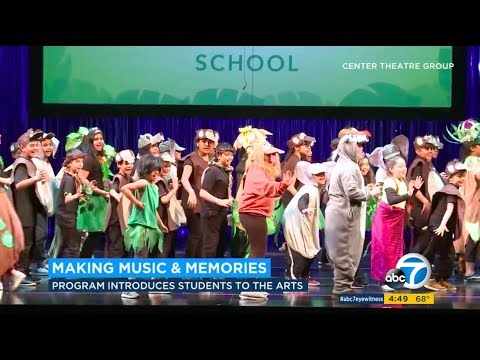 Disney Musicals In Schools at Center Theatre Group