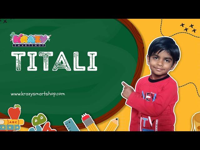 Butterfly Hindi Poem   Nursery Rhymes   Kids Song