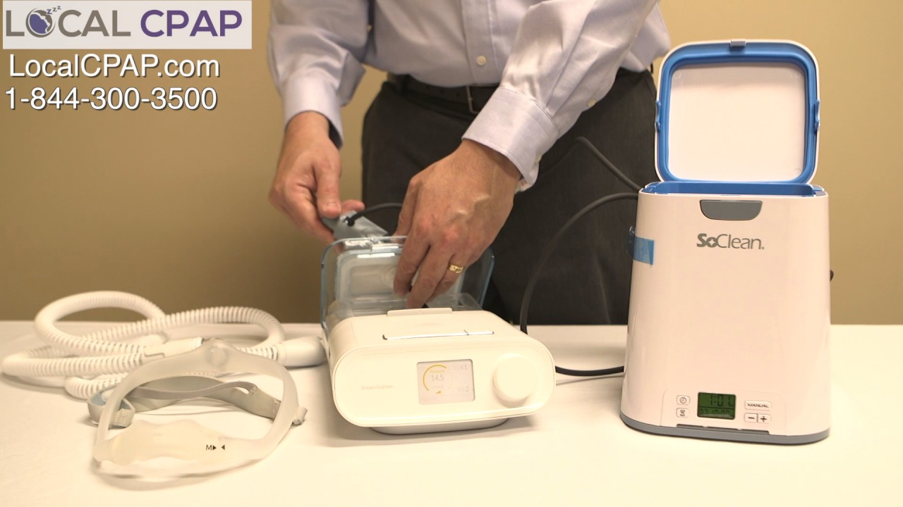 SoClean 2 CPAP Cleaner for Philips Respironics DreamStation
