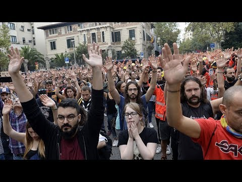 UPDATED: Catalonia Strikes Over Suppression of Independence Vote