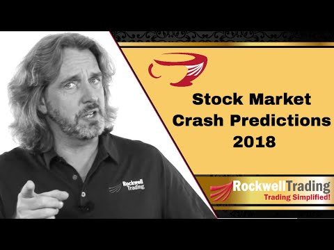 Stock Market Crash Predictions 2018 – and how to survive a market crash