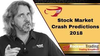 Stock Market Crash Predictions 2018 - and how to survive a market crash