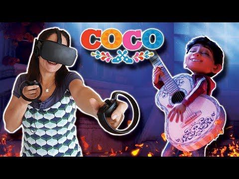 PELÍCULA COCO (PIXAR) EN REALIDAD VIRTUAL   Experiencia y Curiosidades (Español)