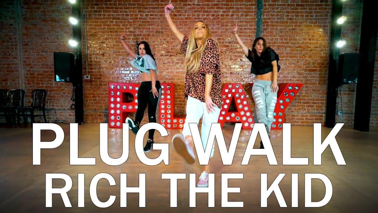 Rich The Kid Plug Walk Dance Tutorial Mandy Jiroux Youtube
